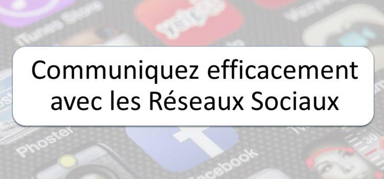 """Atelier au Labo """"Communiquez efficacement avec les réseaux sociaux"""""""